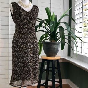 Dresses & Skirts - 👗 Beautiful Chocolate Polka Dot Dress